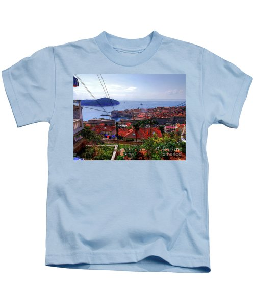 The Colourful City Of Dubrovnik Kids T-Shirt