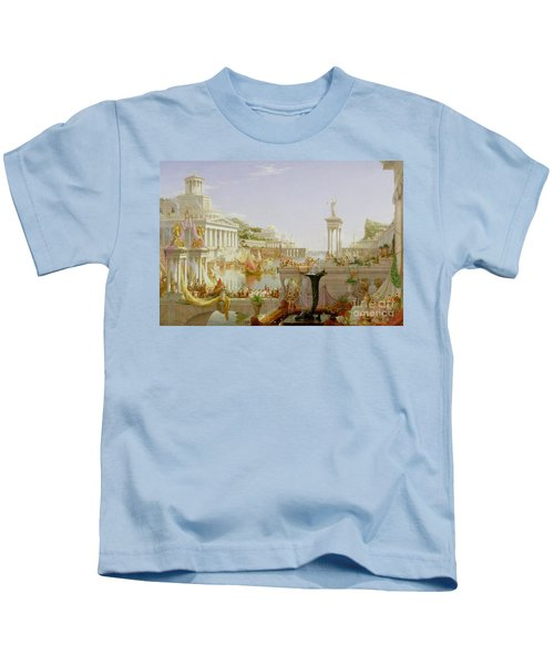 The Course Of Empire - The Consummation Of The Empire Kids T-Shirt