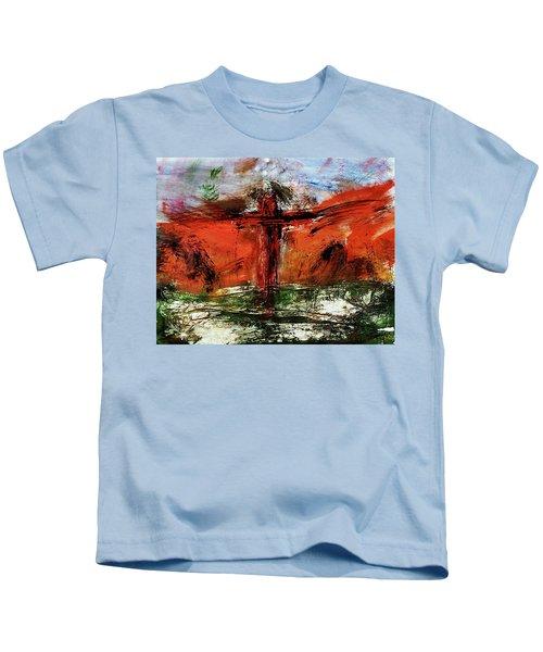 The Crucifixion #1 Kids T-Shirt