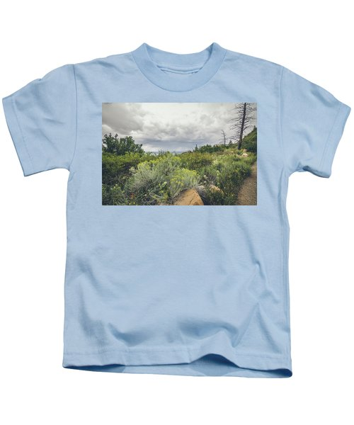 The Desert Comes Alive Kids T-Shirt