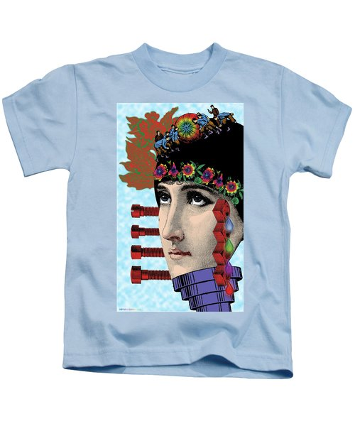 The Flow Of Memory Kids T-Shirt