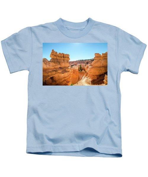 The Glowing Canyon Kids T-Shirt