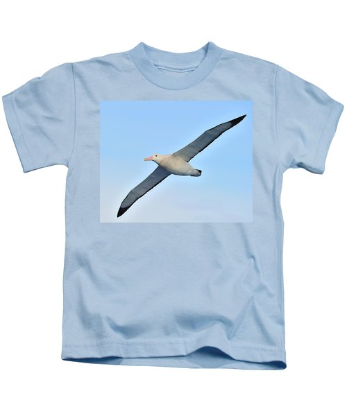 The Greatest Seabird Kids T-Shirt by Tony Beck