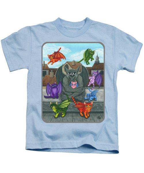 The Guardian Gargoyle Aka The Kitten Sitter Kids T-Shirt