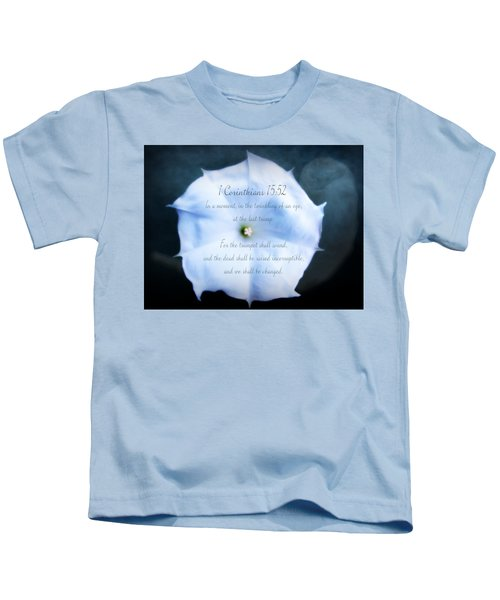 The Last Trumpet - Verse Kids T-Shirt
