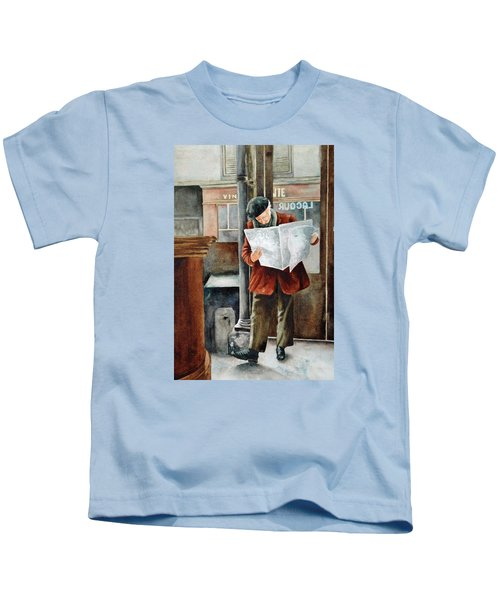 The Latest News Kids T-Shirt