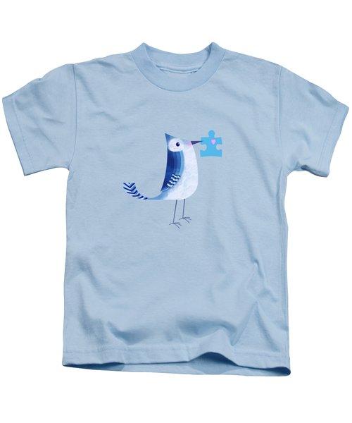 The Letter Blue J Kids T-Shirt