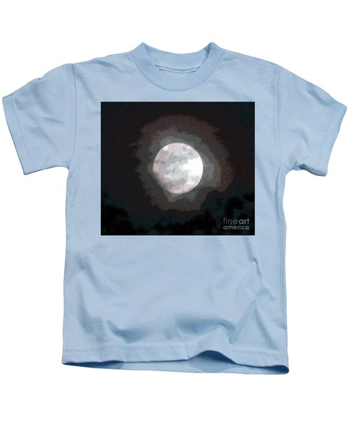 The Man In The Moon  Kids T-Shirt