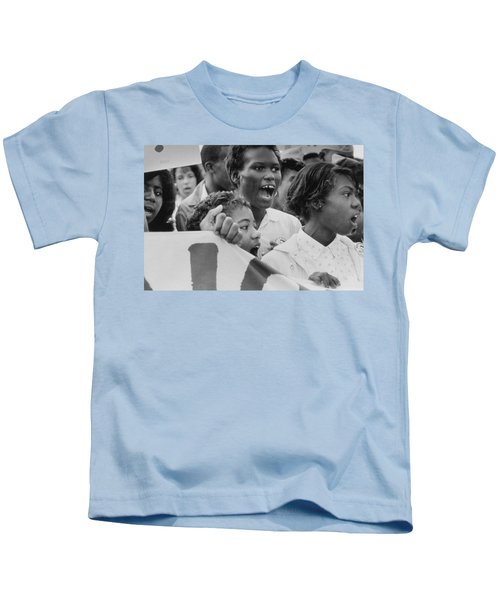 The March On Washington   A Group From Detroit Kids T-Shirt