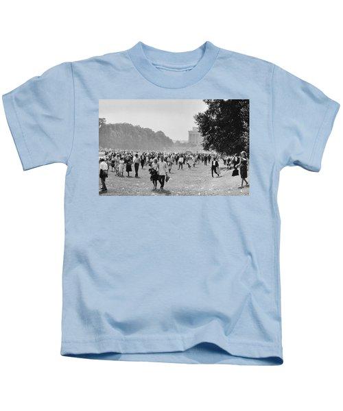 The March On Washington  Heading Home Kids T-Shirt