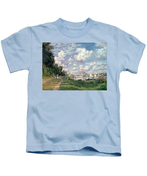 The Marina At Argenteuil Kids T-Shirt