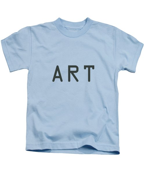The Meaning Of Art - Simply Art Kids T-Shirt