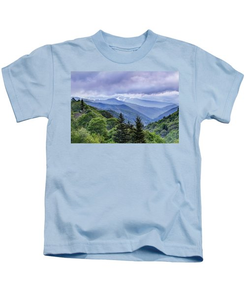 The Mountains Of Great Smoky Mountains National Park Kids T-Shirt