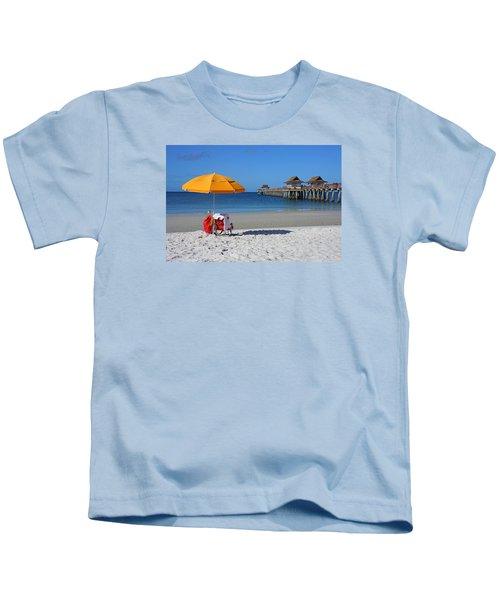 The Naples Pier Kids T-Shirt