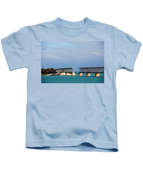 The Old Railroad To The Keys Kids T-Shirt