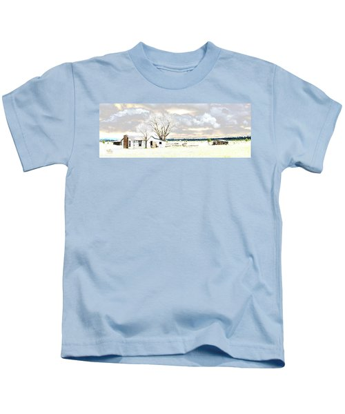 The Old Winter Homestead Kids T-Shirt