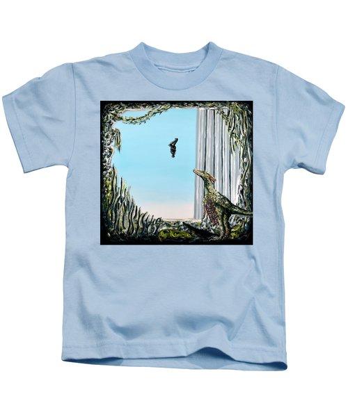The Origin Of Species -a Recurring Pattern- Kids T-Shirt