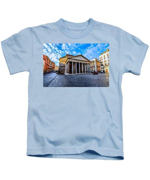 The Pantheon Rome Kids T-Shirt