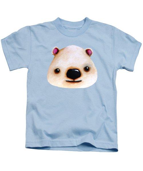 The Polar Bear Kids T-Shirt by Lucia Stewart