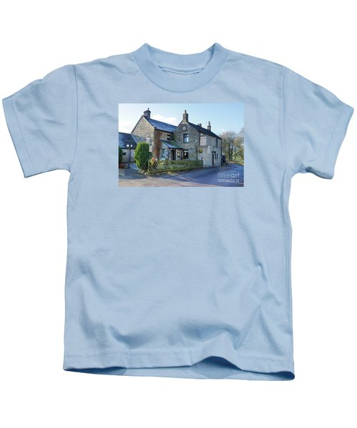 The Queen Anne At Great Hucklow Kids T-Shirt