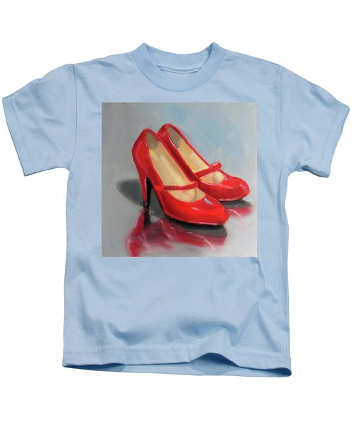 The Red Shoes Kids T-Shirt