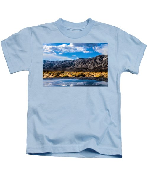 The Reflection On The Roof Kids T-Shirt