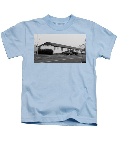 The Rolling Stones' Memory Motel Montauk New York Kids T-Shirt