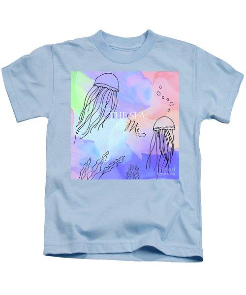 The Sea Is Me Kids T-Shirt