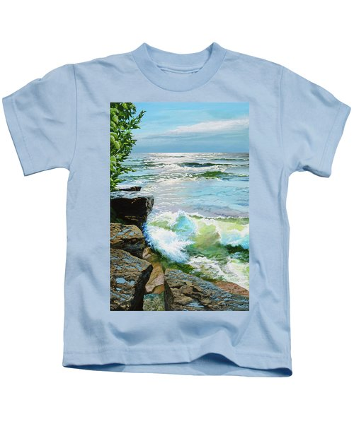 The Storm Is Gone Kids T-Shirt