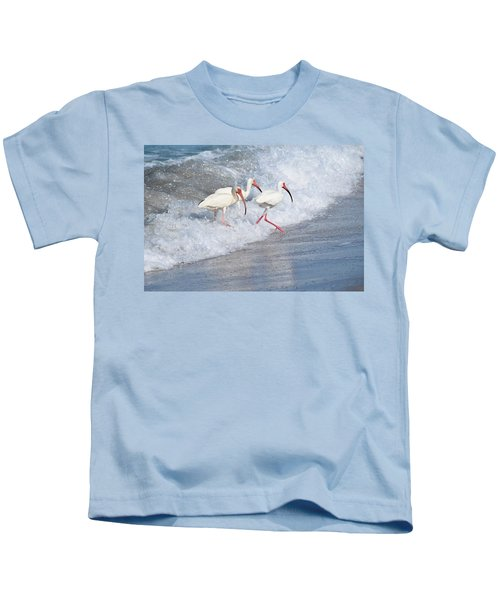 The Tide Of The Ibises Kids T-Shirt