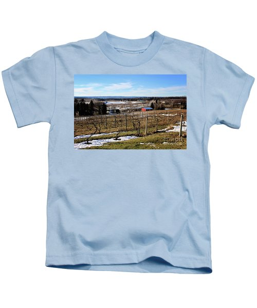 The Vineyard On Old Mission Kids T-Shirt