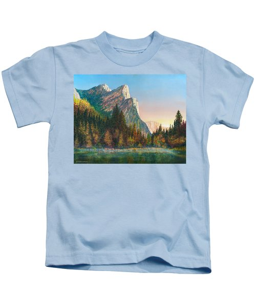 Three Brothers Morning Kids T-Shirt