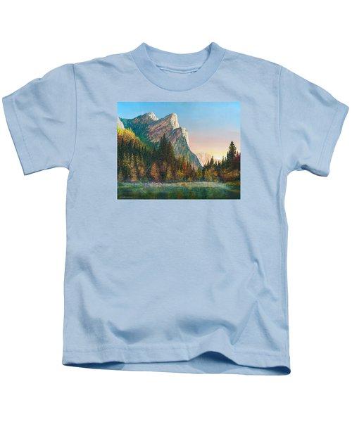 Three Brothers Morning Kids T-Shirt