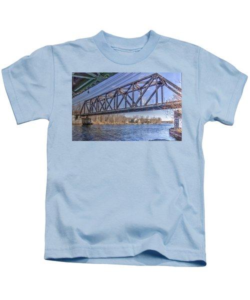 Three Rivers Trestle Kids T-Shirt
