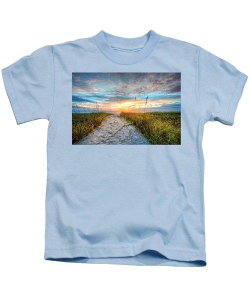 Through The Dunes Kids T-Shirt