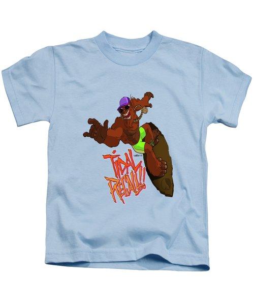 Tidal Recall  Kids T-Shirt
