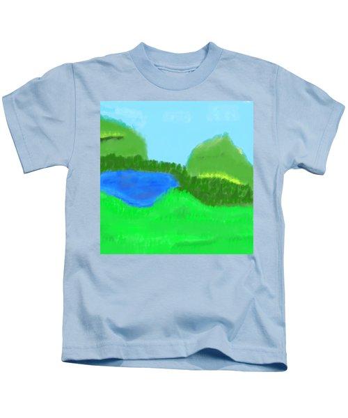 Time For Fishing Kids T-Shirt