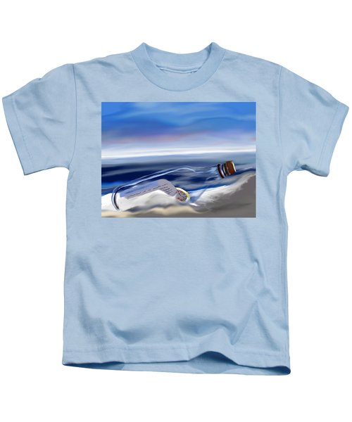 Time In A Bottle Kids T-Shirt