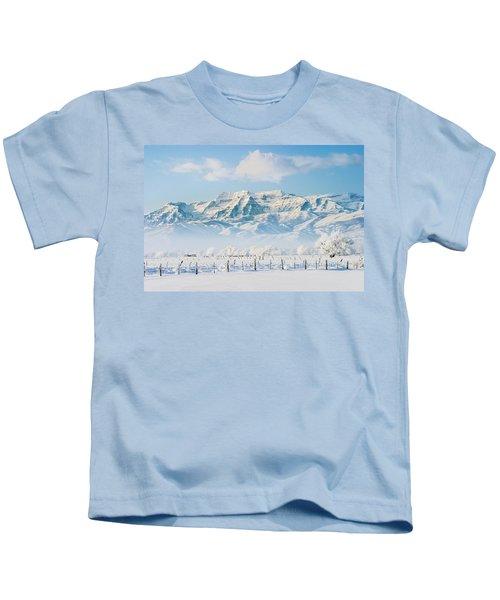 Timp In Winter Kids T-Shirt