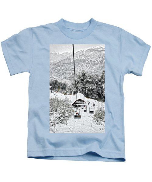To The Land Of Frozen Dreams In The Argentine Patagonia Kids T-Shirt