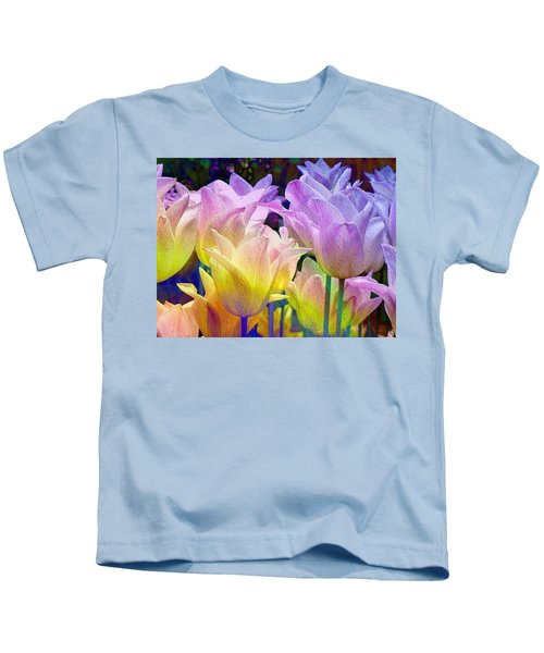 Totally Tulips Two Kids T-Shirt