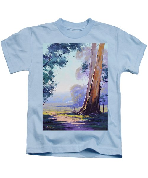 Track To The Farm Kids T-Shirt