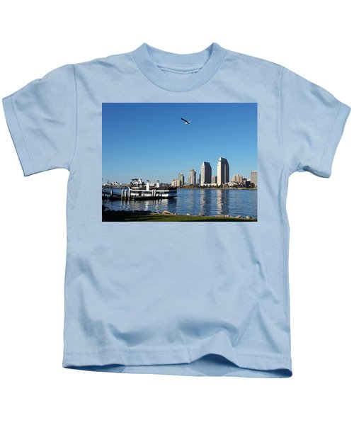 Tranquility By The Bay Kids T-Shirt