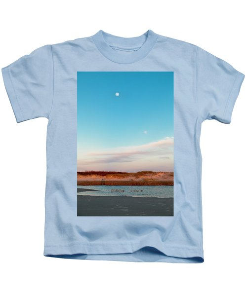 Tranquil Heaven Kids T-Shirt by Betsy Knapp