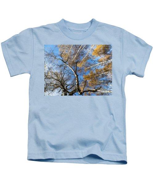Trees Grow To The Sky Kids T-Shirt