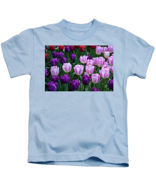 Tulip Blush Kids T-Shirt