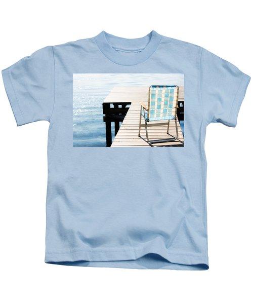 Turquoise Paradise Kids T-Shirt
