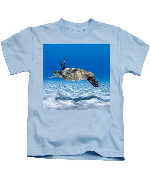 Turtle Flight -  Part 2 Of 3  Kids T-Shirt