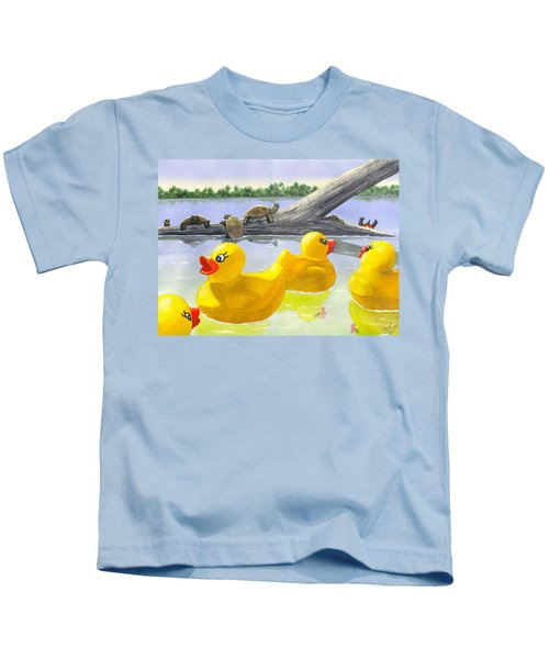Turtle Log Kids T-Shirt