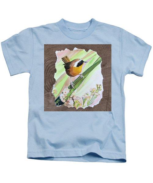 Uncommon Yellowthroat Kids T-Shirt